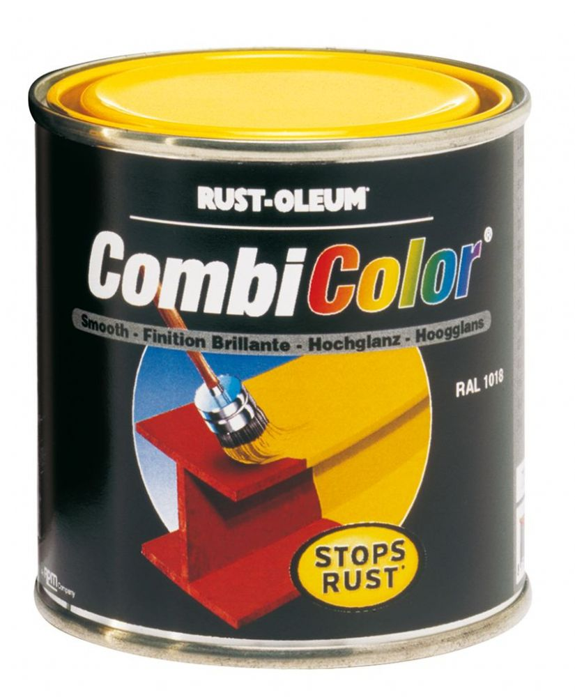 Rustoleum CombiColor 7300 Gloss Metal Paint 1L clearance